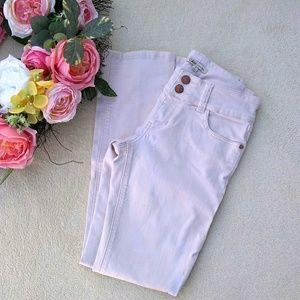 CAbi Lou Lou Blush Straight Leg Jeans size 4 #874